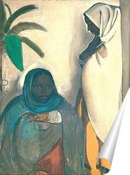 Постер Две женщины