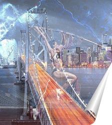 Постер Прыжок вверх