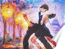 Постер Парный танец