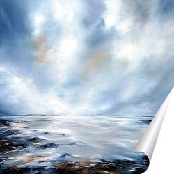 Постер Волшебное небо над морем