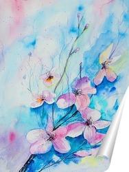 Постер Весеннее цветение