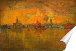 Постер Венеция с моря