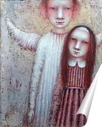 Постер С ангелом