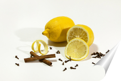 Постер Лимон со специями