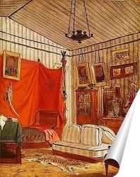 Постер Спальня графа де Морне