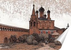 Постер На Крутицком подворье, г.Москва