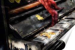 Постер Последний осени аккорд