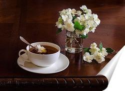 Постер Чай с жасмином