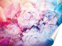 Постер Прекрасные розы