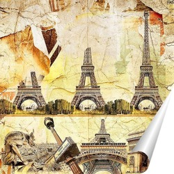 Постер Архитектура Франции