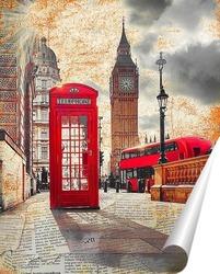 Постер Лондонская архитектура