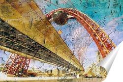 Постер Арочный мост