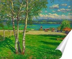 Постер Летнее время на озере муртензее