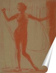 Постер Обнажённая женщина