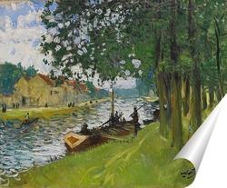 Постер Барж Сен-Мамес