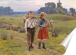 Постер Дети на пути домой
