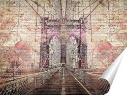 Постер Brooklyn Bridge