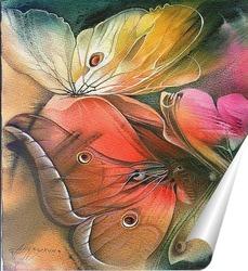 Постер бабочки
