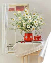 Постер Вишнёво-ромашковый июнь