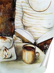 Постер Кофейная душа