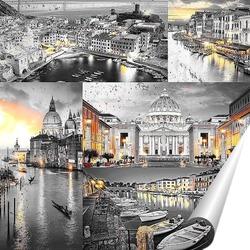 Постер Ночная Италия