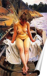 Постер В лодке Вернера