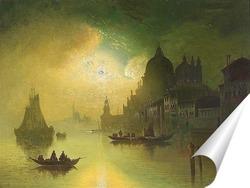 Постер Лунная ночь над Венецией