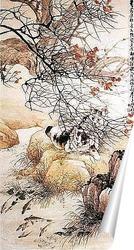 Постер Картина средних веков