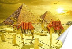 Постер Рассвет в Египте