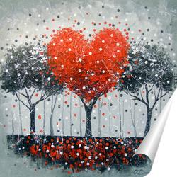 Постер Дерево любви