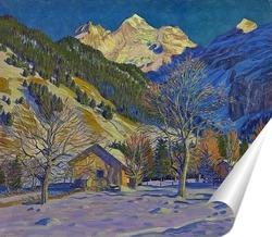 Постер Первый снег в Kandersteg
