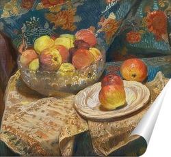 Постер Натюрморт с яблоками, 1912