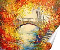 Постер Осень в старом парке