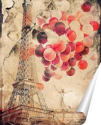 Постер За мечтой в Париж