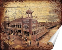 Постер Steel Pier, Атлантик-Сити (1910)