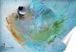 Постер Рыбка туда