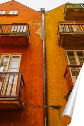 Постер Варшавский домик