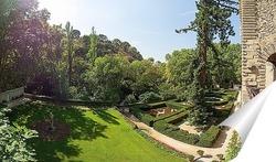 Постер Сад замка Ла Барбьен