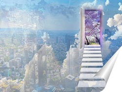 Постер Дверь в другое измерение