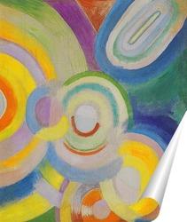 Постер Цветные диски