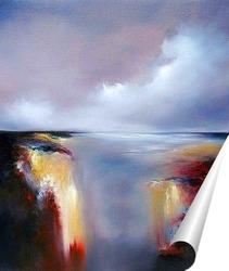Постер Сказочный водопад