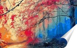 Постер Дерево в тумане