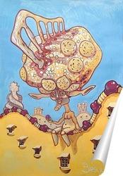 Постер Гаудизм_запущенная-стадия