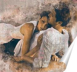 Постер Пара на море