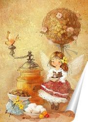 Постер Кофейная фея