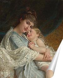 Постер В нежных объятьях