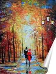 Постер Романтическая прогулка