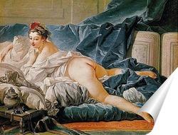 Постер Браун Одалиска, 1745