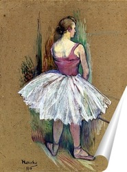 Постер Танцовщица в Пьед де Ву