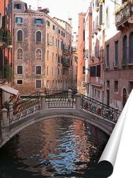 Постер Мостики Венеции